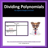 Dividing Polynomial by Monomial Scaffold Notes