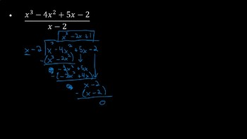 Dividing Polynomials - PowerPoint Lesson (7.2)