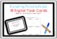Dividing Polynomials Task Cards including Digital Version