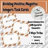 Dividing Positive/Negative Task Cards