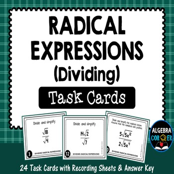 Dividing Radical Expressions