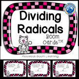Dividing Radicals Boom Cards--Digital Task Cards