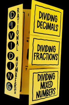 Dividing Rational Numbers (Foldable)