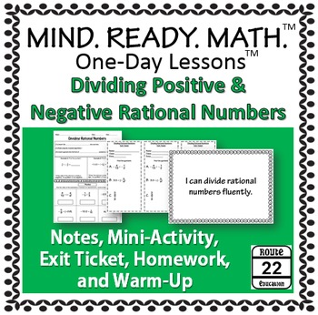 Dividing Rational Numbers Notes