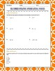 FREE Dividing Rational Numbers Partner Activity