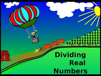 Power-Point:  Dividing Real Numbers