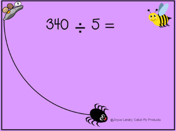 Long Division Problems for PROMETHEAN Board
