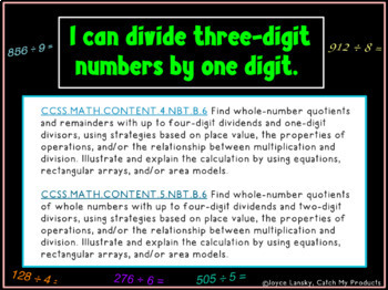 Division Lesson Plan : Three Digit by One Digit for Power Point