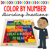 Dividing Unit Fractions: Color By Number