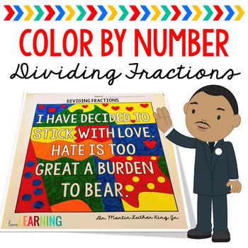 Dividing Unit Fractions: Color By Number