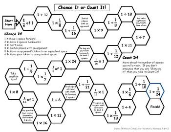 Dividing Unit Fractions Part 2: Chance It or Count It