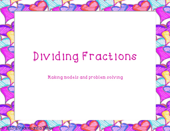 Dividing Unit Fractions and Whole Numbers TEKS 5.3J, 5.3L