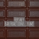 Dividing Unit Fractions with Models AND HERSHEY BARS
