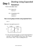 Dividing Using Expanded Notation