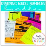 Dividing Whole Numbers Bundle