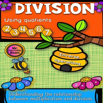 Division Games (Whole Numbers Using Inverse Operations)