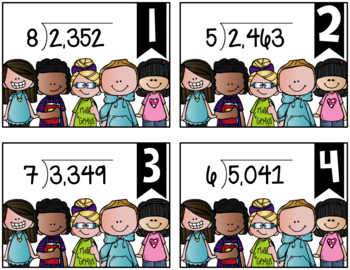 Dividing Whole Numbers {a Problem of the Day Intervention}