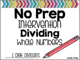 Dividing Whole Numbers by 1 Digit Divisors {Computation Intervention}