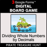 Dividing Whole Numbers by Decimals - Digital Board Game |