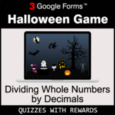 Dividing Whole Numbers by Decimals | Halloween Decoration