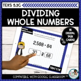 Dividing Whole Numbers with Division Strategies | Boom Car