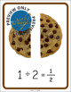 Division and Fractions Cookie Posters