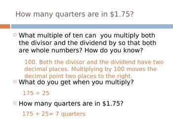 Dividing a Decimal by a Decimal (5th Grade EnVision Math)