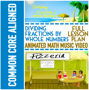 DIVIDING FRACTIONS BY WHOLE NUMBERS: Word Problems, Video