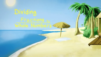 Dividing Fractions by Whole Numbers Song & Music Video