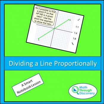 Geometry:  Dividing a Line Segment Proportionally