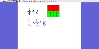 Dividing a Unit Fraction by a Whole Number