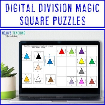 DIVISION Distance Learning Math Google Classroom Worksheet Alternatives Review
