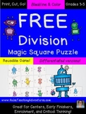 FREE Division Game, Activity, or Worksheet Alternatives {M