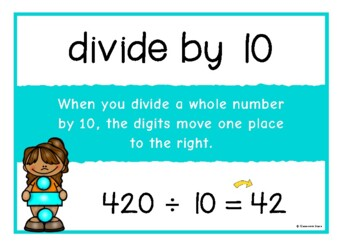 Dividing by 10, 100, 1000