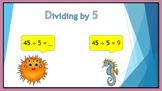 Dividing by 5