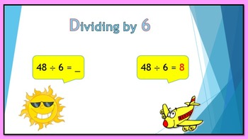 Dividing by 6