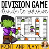 Dividing by Multiples of 10, 100, and 1000 Mental Math Game