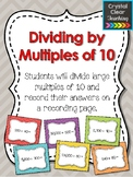 Dividing by Multiples of 10 Task Cards