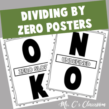 Dividing by Zero Poster