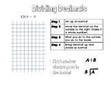 Dividing decimals notes