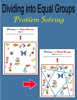 Dividing into Equal Groups (Problem-solving)