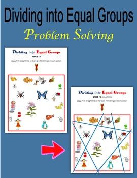 Dividing into Equal Groups (Problem-solving)