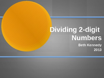 Dividing with 2-digit Numbers