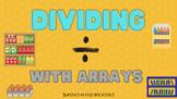 Dividing with Arrays a Digital Classwork Assignment (Google Slides)