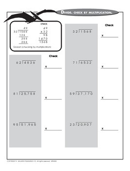 Dividing with Four-Digit Dividends (CCSS 5.NBT.B.6)