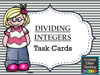 Dividing with Integers Task Cards