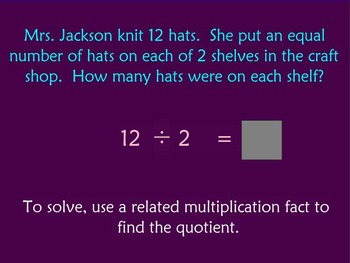 Dividing with Numbers 0-10