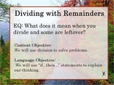 Dividing with Remainders