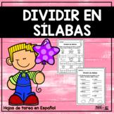 Dividir en sílabas, acento ortográfico y la sílaba tónica