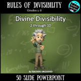 Divisibility Rules PowerPoint Lesson